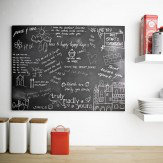 Arthouse Chalkboard Graffiti Printed Canvas Art