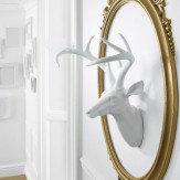 Arthouse White Stag Figurine Art