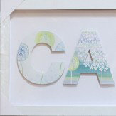 Arthouse Calm Filled Frame Art