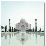 Arthouse Taj Mahal Printed Canvas Art