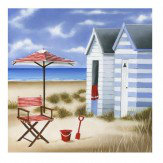 Arthouse Deck Chairs set of 2 printed canvases Art