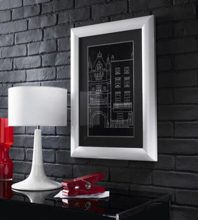Image of Arthouse Art Architectural London Black Framed Print, 002530