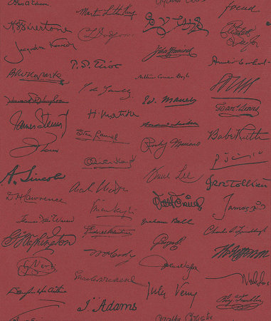 Andrew Martin Autograph Red Wallpaper main image