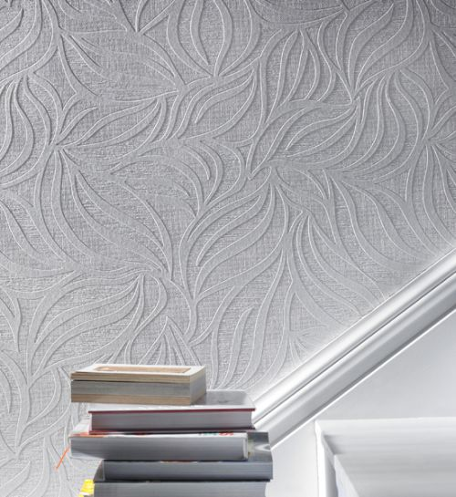 Superfresco Eden White Wallpaper - Product code: 18390