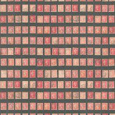 Andrew Martin Penny Post Red Wallpaper - Product code: PP01-RED
