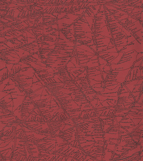 Andrew Martin Traveller Red Wallpaper - Product code: T02-RED