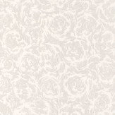 Graham & Brown Swirl White Wallpaper