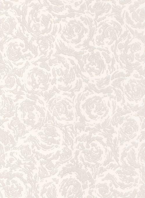 Superfresco Swirl White Wallpaper - Product code: 321