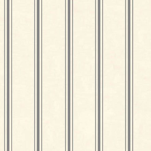 Clarke & Clarke Jolie Stripe Charcoal Wallpaper main image