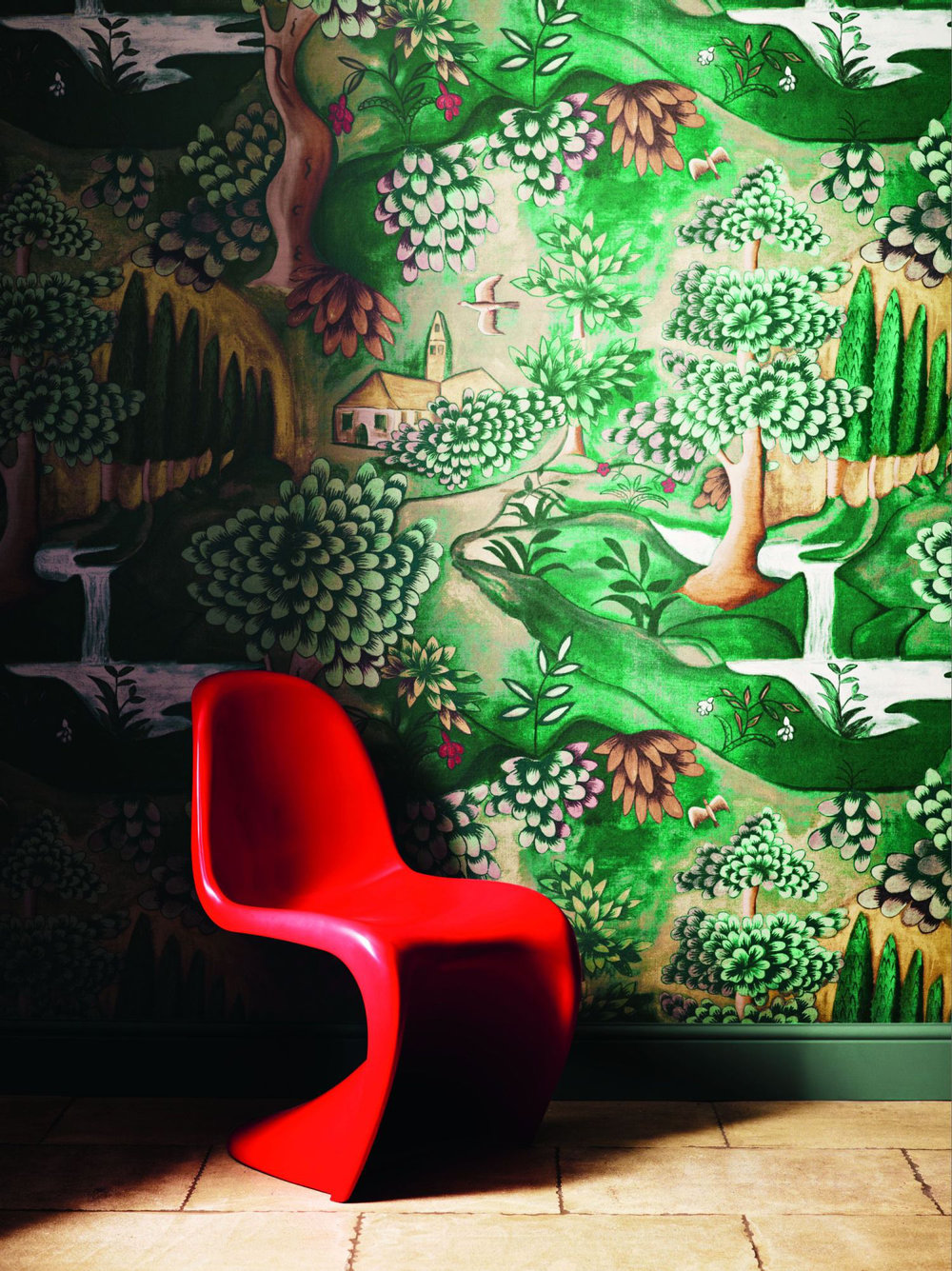 verdure by zoffany wallpaper direct