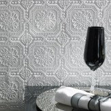 Graham & Brown Buckingham White Wallpaper