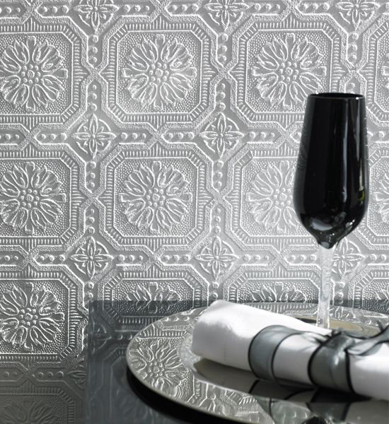 Superfresco Buckingham White Wallpaper - Product code: 12011