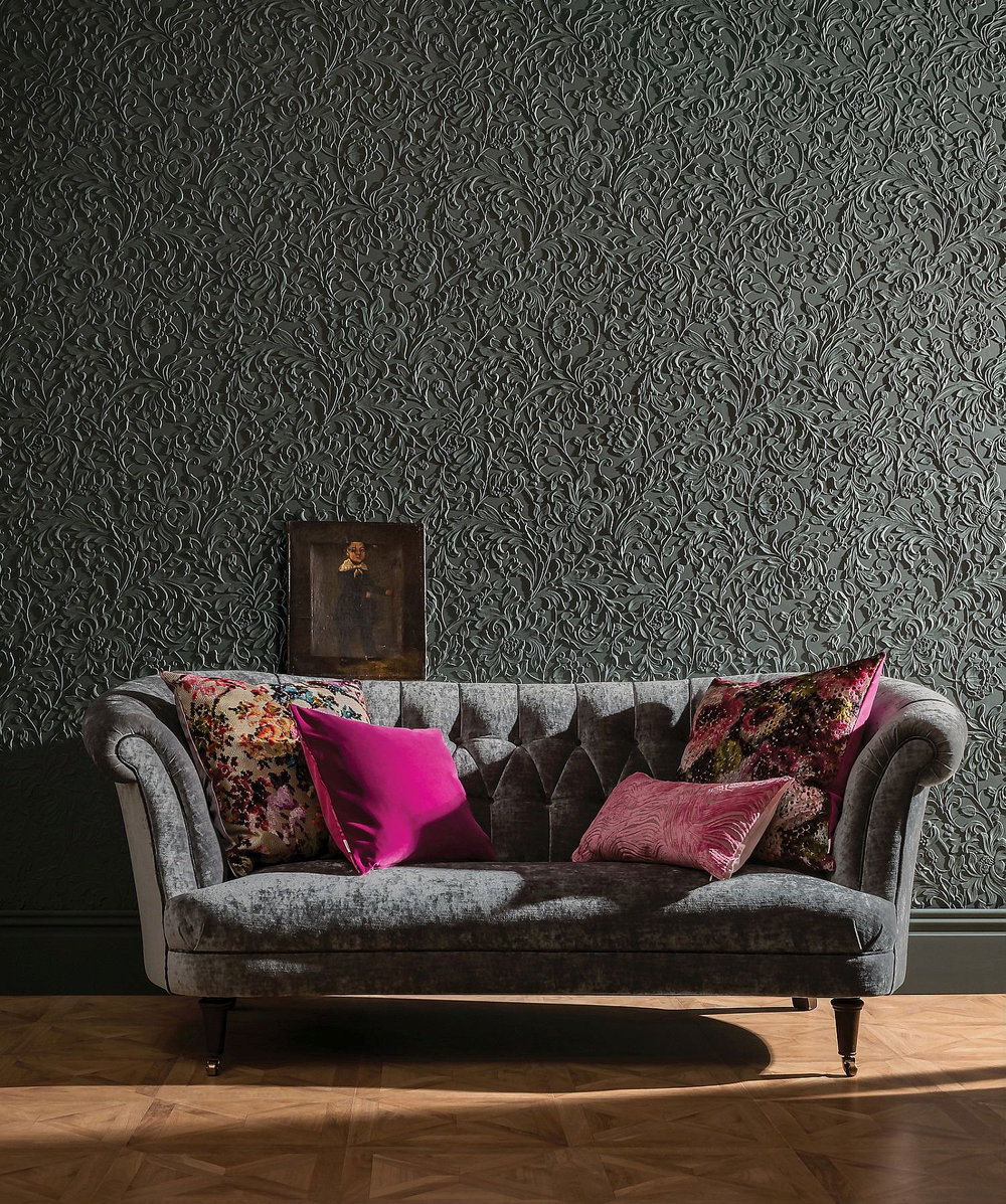 Lincrusta Kelmscott Paintable Wallpaper - Product code: RD1968FR