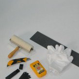 Lincrusta Lincrusta Tool Kit Black / Yellow / White Wallpaper - Product code: RDTK1