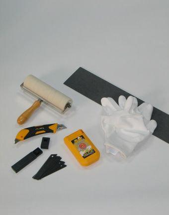 Lincrusta Lincrusta Tool Kit Black / Yellow / White Wallpaper - Product code: RDTK1