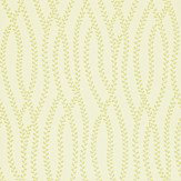 Sanderson Ester Ivory / Green Wallpaper - Product code: 211979