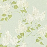 Sanderson Lilacs Duck Egg Wallpaper