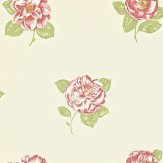 Sanderson Lamorna Red / Green Wallpaper
