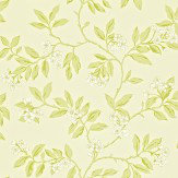 Sanderson Blossom Bough Cream / Green Wallpaper