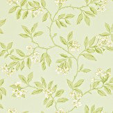 Sanderson Blossom Bough Duck Egg / Green Wallpaper