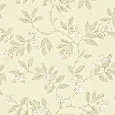 Sanderson Blossom Bough Linen / Grey Wallpaper
