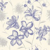 Albany Emily Blue Wallpaper - Product code: 267937