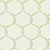 Sanderson Fleur Trellis Cream / Duck Egg Wallpaper