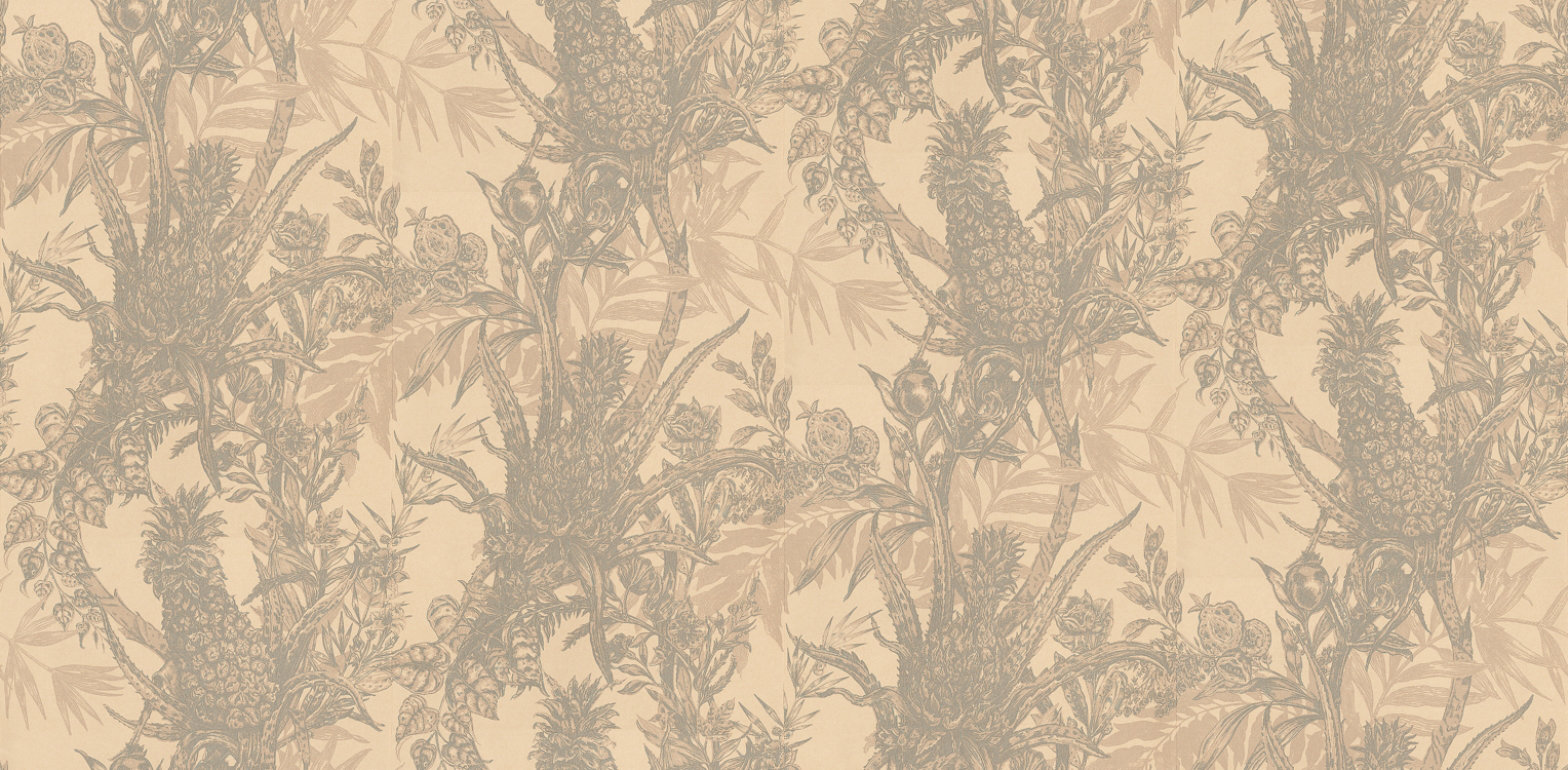 Image of Timorous Beasties Wallpapers Pineapple, HS/PINE/4004/01