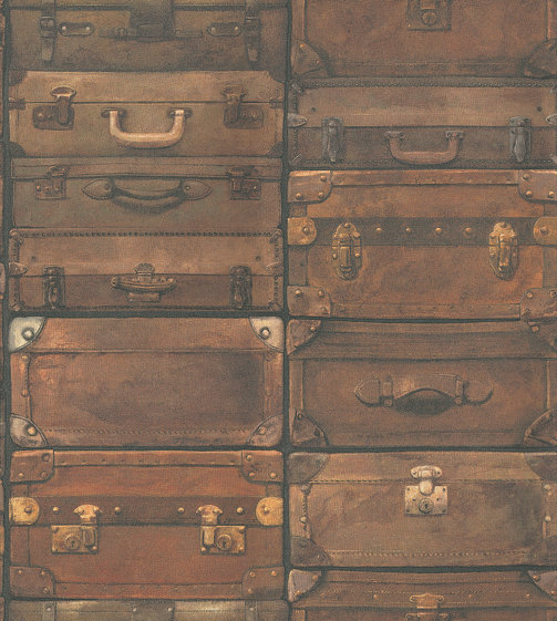 Andrew Martin Luggage Leather Wallpaper main image