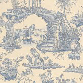 Sheila Coombes Oriental Toile Wallpaper