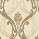 Holden Decor Dorchester Sand Wallpaper