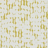 Harlequin Links White / Lime Wallpaper