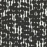Harlequin Links Black / White Wallpaper