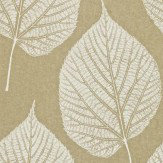 Harlequin Leaf Cream / Gold Wallpaper