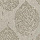 Harlequin Leaf Silver / Grey Wallpaper