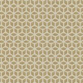 Harlequin Trellis Gold Wallpaper