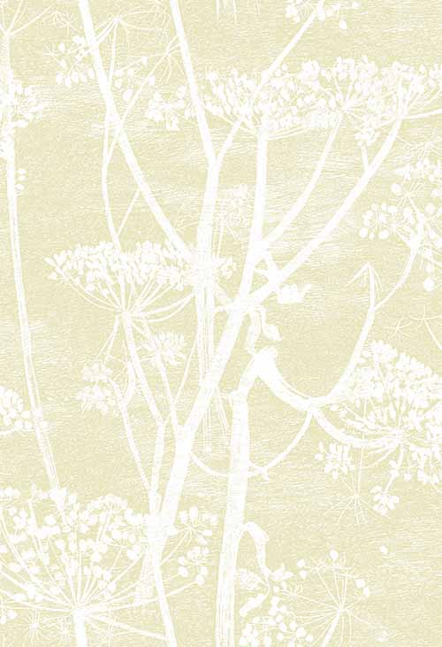 Cole & Son Cow Parsley Light Gold Wallpaper main image