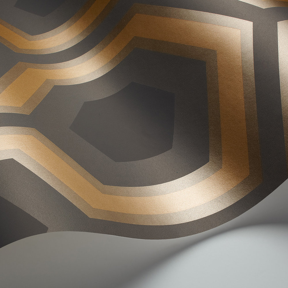 Hicks Grand Wallpaper - Gold - by Cole & Son