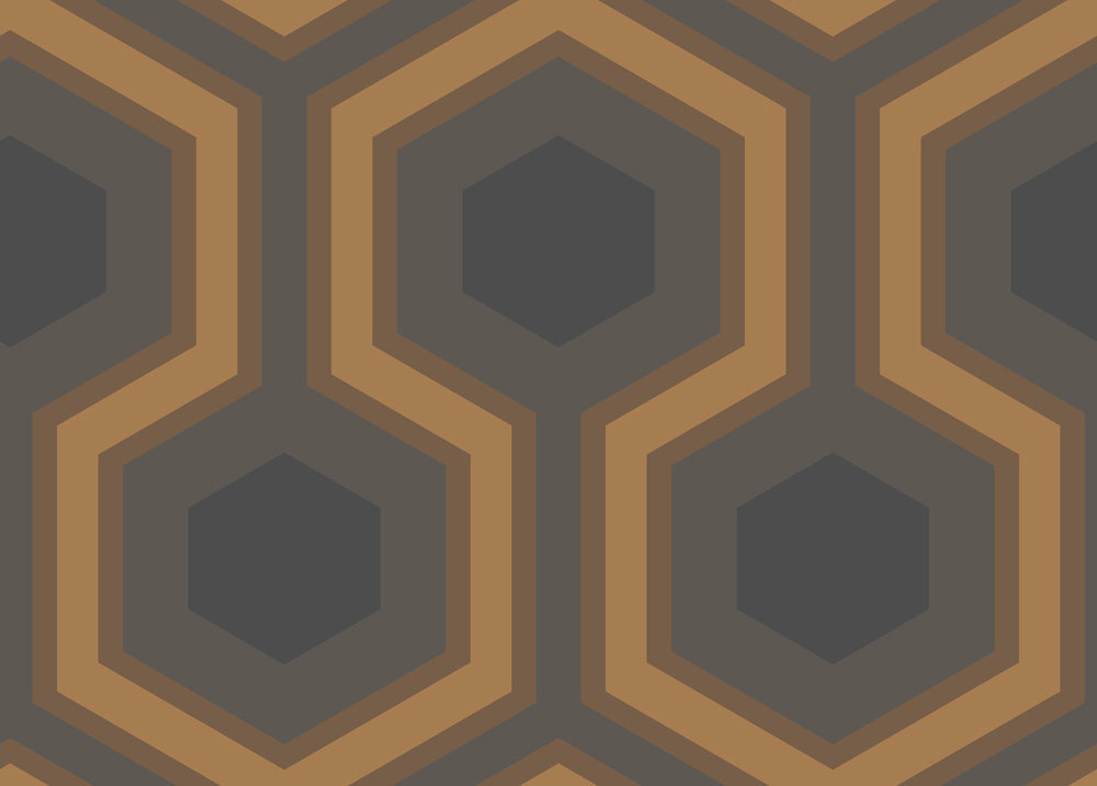Cole & Son Hicks Grand Gold Wallpaper - Product code: 95/6033