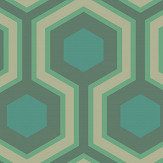 Cole & Son Hicks Grand Green Wallpaper