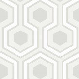 Cole & Son Hicks Grand White Wallpaper