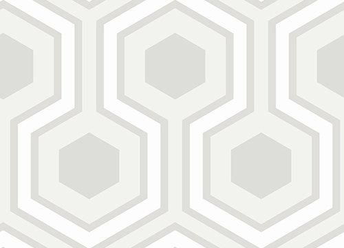 Cole & Son Hicks Grand White Wallpaper - Product code: 95/6036