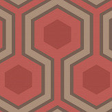 Cole & Son Hicks Grand Red Wallpaper