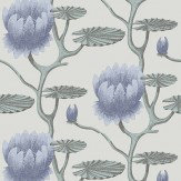Cole & Son Summer Lily Aqua Wallpaper