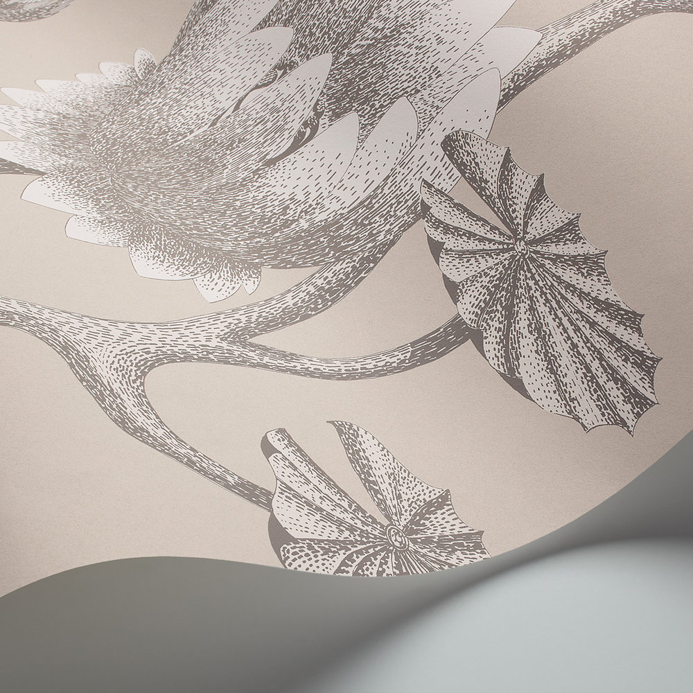 Summer Lily Wallpaper - Neutral - by Cole & Son