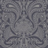 Cole & Son Malabar Slate Grey Wallpaper