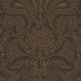 Cole & Son Malabar Dark Slate Grey Wallpaper