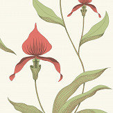 Cole & Son Orchid Red Wallpaper