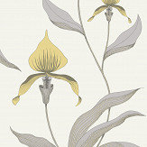 Cole & Son Orchid Yellow Wallpaper