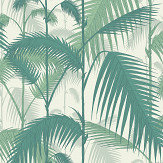 Cole & Son Palm Jungle Emerald Green Wallpaper